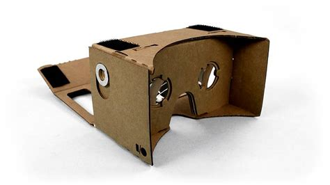 Make your own VR headset with some cardboard and an