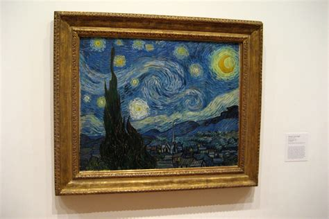 NYC - MoMA: Vincent van Gogh's The Starry Night | Vincent