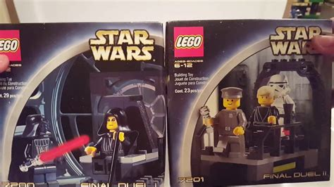Lego Star Wars 7200 & 7201 Final Duel Unboxing and Build