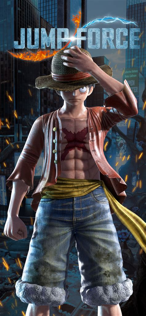Jump Force Luffy Wallpapers | Cat with Monocle
