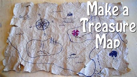 How to Make a Treasure Map - easy, even for slow pirates