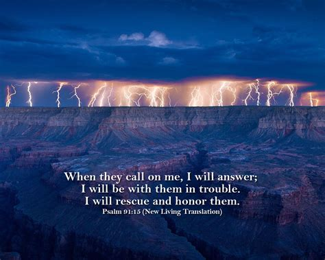 Psalm 91:15 - The Fellowship Site