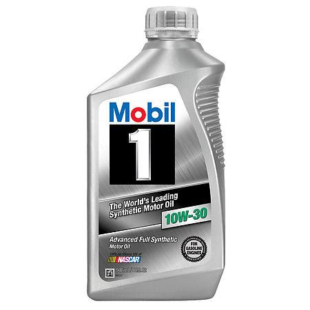 Mobil 1 Synthetic oil (10w-30) 1 quart----- special price-----
