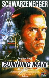 The Running Man Movie Posters From Movie Poster Shop