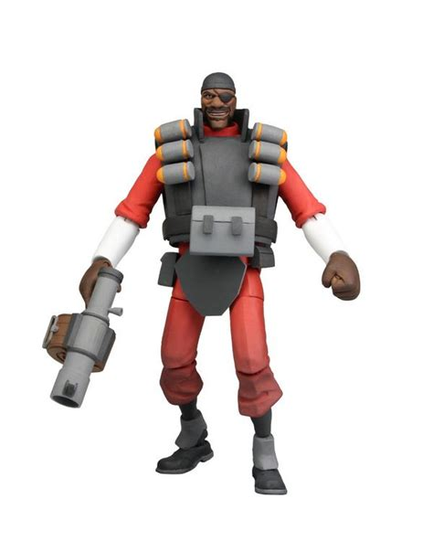 Team Fortress 2: Series 1 Action Figure: Team RED: Demoman