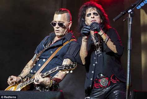 Johnny Depp, 54, looks fitter and healthier as he performs