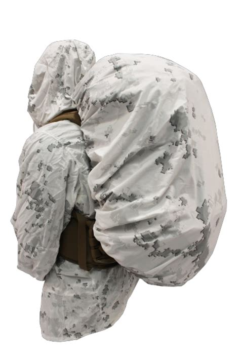 Marine Corps MCWCS Snow Camouflage Parka, Trousers and