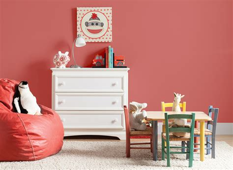 Coral Berry Kid's Room | Kids' Room Colours | Rooms By