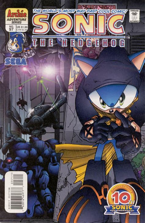 Archie Sonic the Hedgehog Issue 97 | Mobius Encyclopaedia