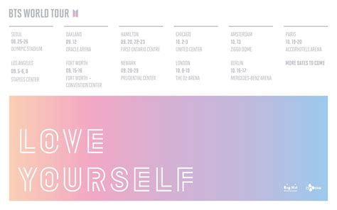 """CONCERT WATCH: BTS - Tickets on Sale in May for """"Love"""