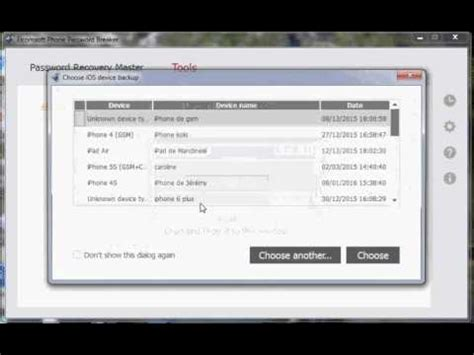 Find Password icloud Stored in Backup iPhone - YouTube