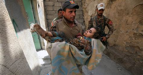 In Battle Against ISIS in Syria and Iraq, Civilians Suffer