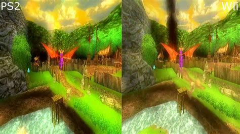 The Legend of Spyro: Dawn of the Dragon - Graphics