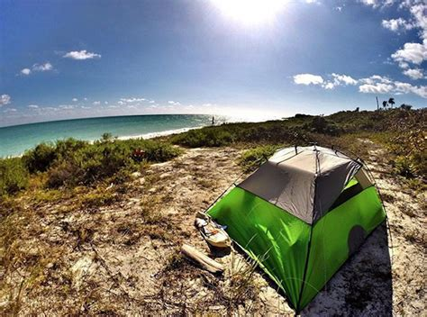 Here's how to find the 27 best beach camping spots in Florida