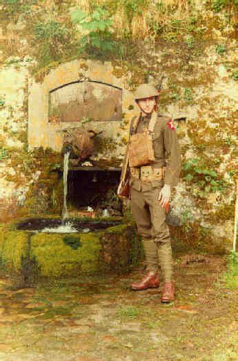 """Call the Fountain at Belleau, France, the """"Devil Dog"""