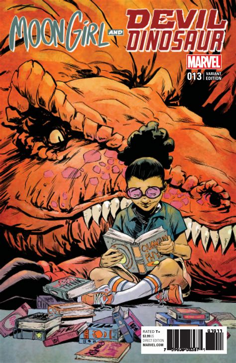 MOON GIRL AND DEVIL DINOSAUR #13 preview – First Comics News