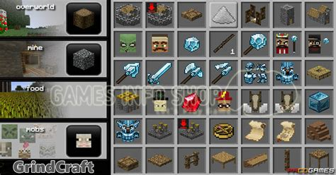 Play Grindcraft game online for fun and relax - Game Info Shop
