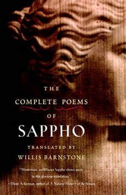 The Complete Poems Of Sappho : Willis Barnstone