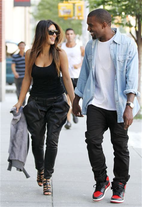 Kim Kardashian and Kanye West's love story in pictures as
