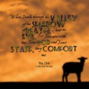 Quotes Psalm 23