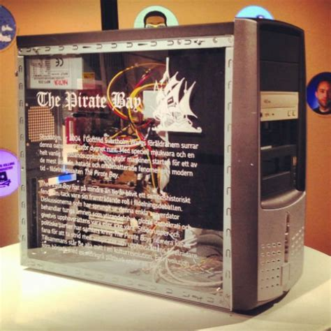 'First' Pirate Bay Server on Permanent Display in Computer