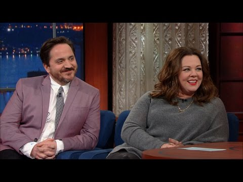 Melissa McCarthy's husband Ben Falcone is totally