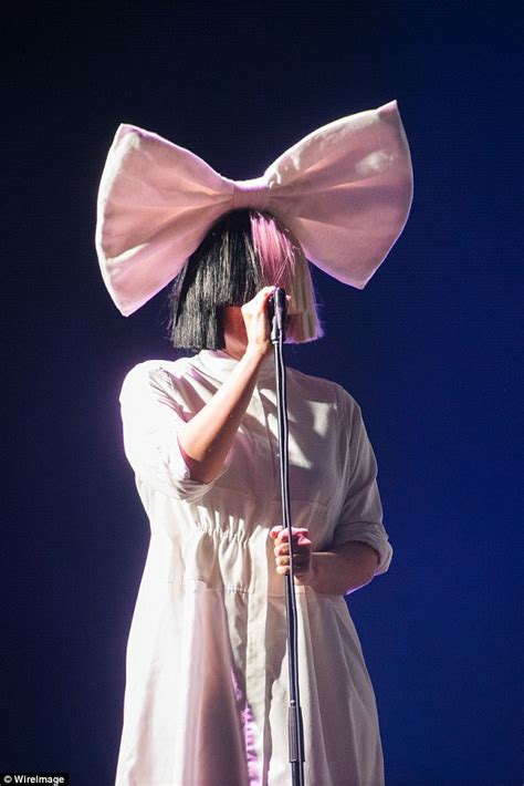 Sia dazzles fans on stage at Sziget Festival in Budapest