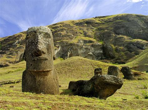 Quarry on Easter Island | National Geographic Society
