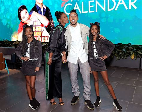 Kim Porter (second from left), Quincy Brown (second from