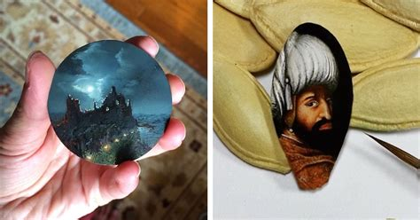 Miniature Paintings That Showcase Big Talent on Tiny Canvases