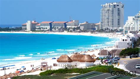 Playa Delfines Cancun Mexico Address and Map