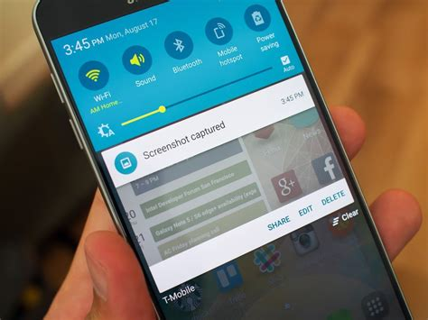 How to take a screenshot on the Galaxy Note 5   Android
