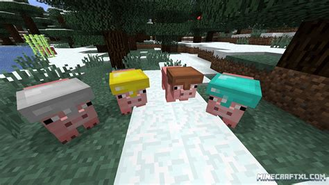 Pig Companion Mod Download for Minecraft 1
