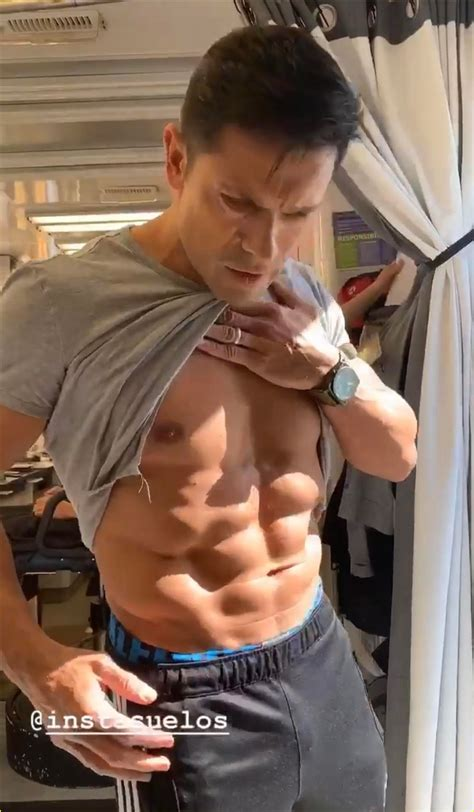 Mark Consuelos Shows Off His Toned Abs on KJ Apa's