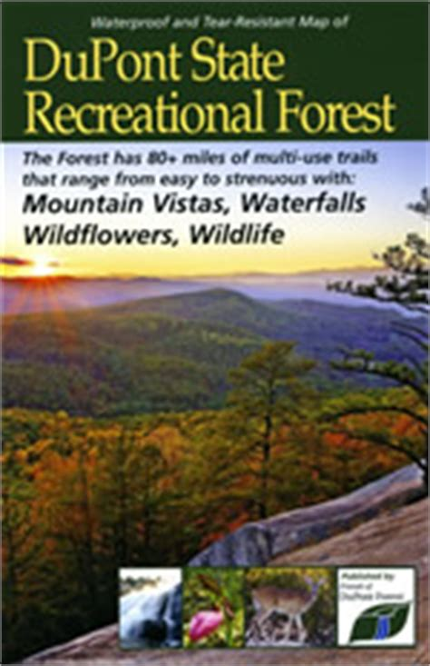 DuPont State Recreational Forest Maps - DuPont State