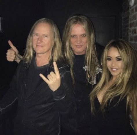 Jerry Cantrell, Sebastian Bach & his wife   Words & Music