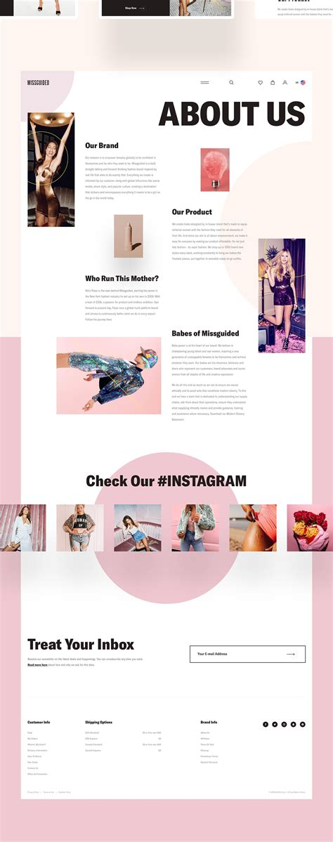 MISSGUIDED - Visual Experiment on Behance