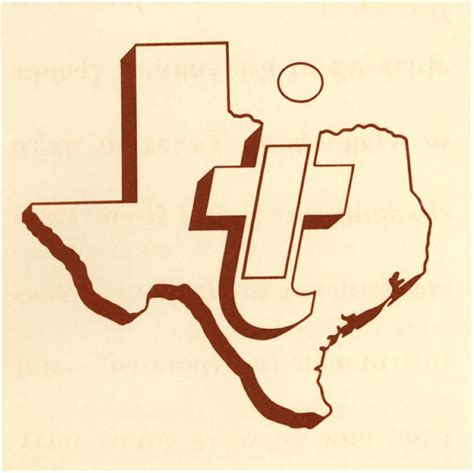 The first Texas Instruments logo   Solid Logos   Pinterest