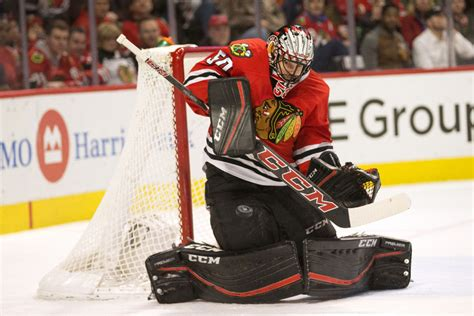 Corey Crawford one possibility for World Cup of Hockey
