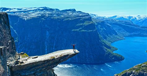 Trolltunga, Norway | 83 Unreal Places You Thought Only