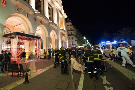 Nice lorry attack: Scenes of carnage in French city     Al