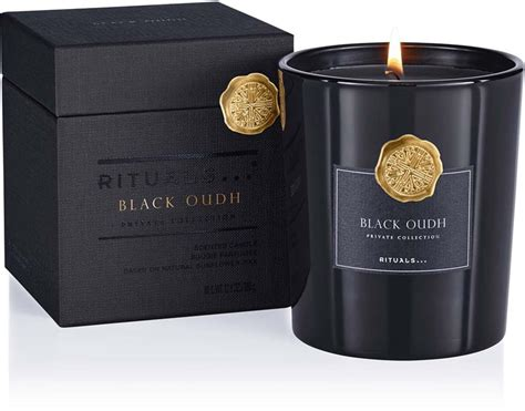 Rituals Black Oud Scented Candle 360 ml | Lyko