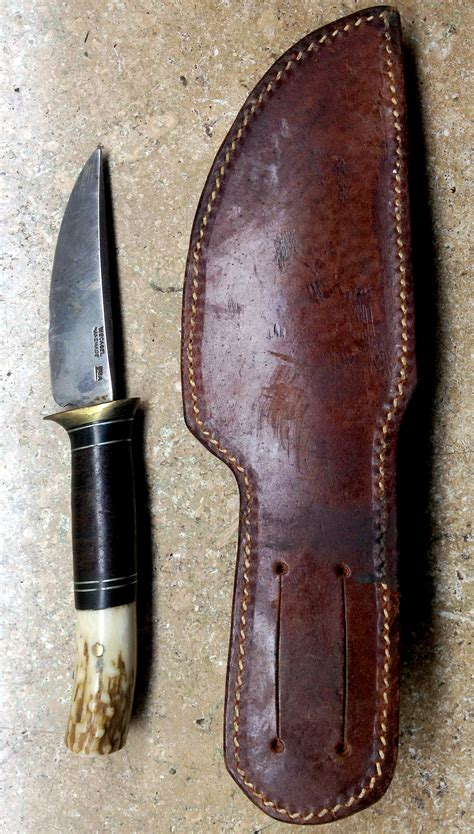 Small Scagel Knife with VL&A Marked Sheath