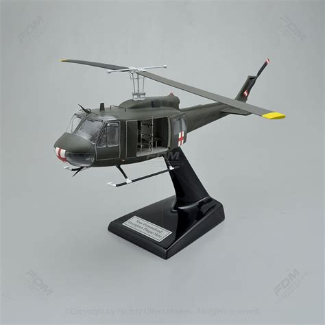 Bell UH-1H Huey Model with Detailed Interior   Factory
