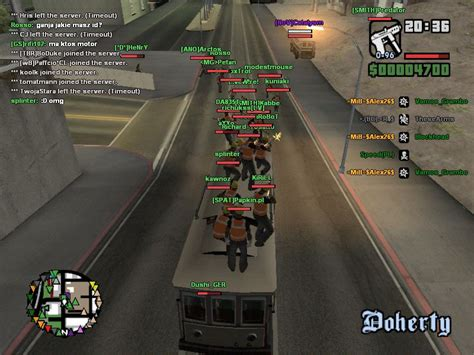 Game Patches: Grand Theft Auto: San Andreas - Multiplayer