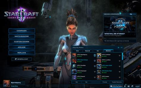 StarCraft 2 Heart Of The Swarm Clan Details Announced