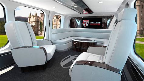 Damn Rich People: Helicopter With Ultra-Luxury Interiors