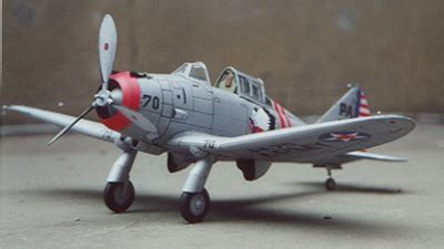 Seversky P-35 in 1:33 scale