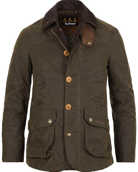 Barbour Lifestyle Cullen Wax Jacket Olive hos CareOfCarl