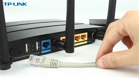 How to Setup a TP-Link WiFi Router - YouTube
